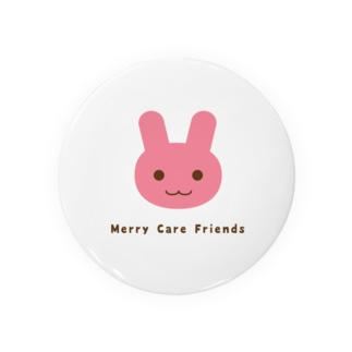 うさぎさん Merry Care Friends Badges