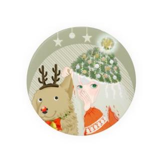 クリスマス前の作戦会議 Badges