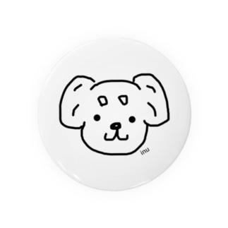 まろ眉シリーズ 垂れ耳わんこ🐶 Badges