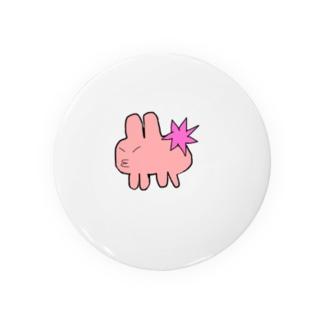 プイプイウサギ Badges