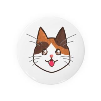 三毛猫ちゃん Badge