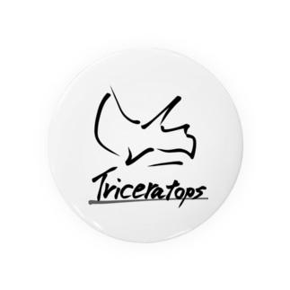 トリケラトプス Badges