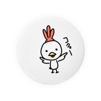 鶏 Badges
