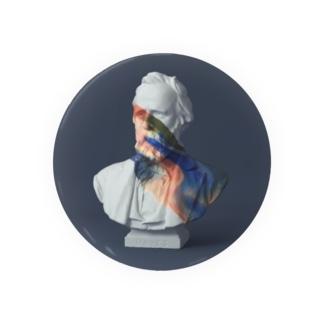 paint on Gypsum statue [12] Badges
