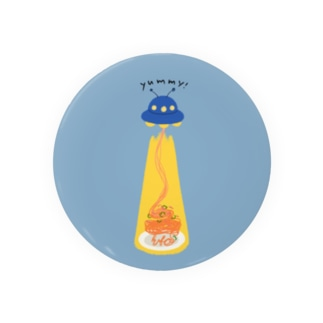 ナポリタン泥棒(blue) Badges