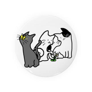 ネコさんデザイン Badges