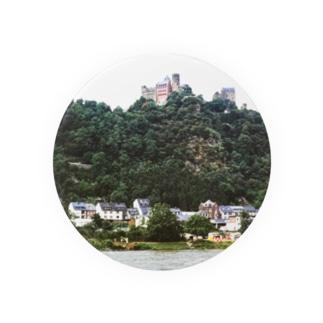 ドイツ:シェーンブルク城 Germany: Schönburg am Rhein Badges
