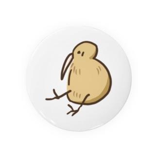 キーウィちゃん Tin Badge