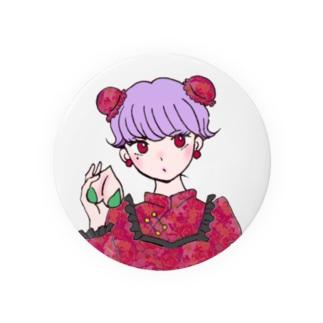 レトロ・チャイナちゃん Badges
