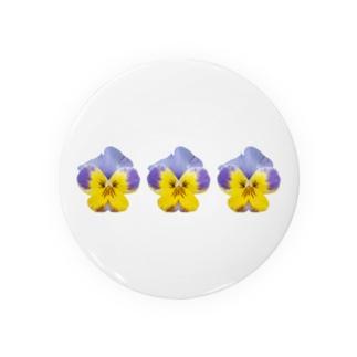 20160228_パンジー×3 Badges