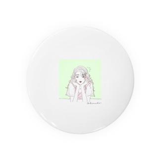 緑・恋愛運 Badges