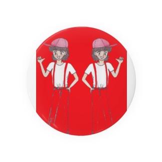 双子姉妹 Badges