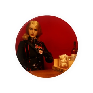 ドール写真:ブロンドの美人将校 Doll picture: Blonde officer Badges