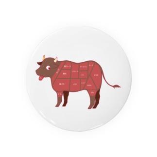 牛肉の部位 Badges