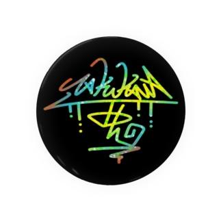 T-JOL タギング 缶バッジ(レインボー) Badges