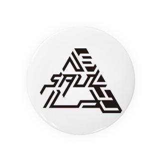 SAUL ロゴグッズ売り場のSAUL kuro Badge