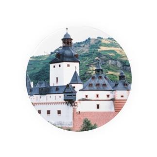 ドイツ:プファルツ城 Germany: Pfalzgrafenstein am Rhein Badges