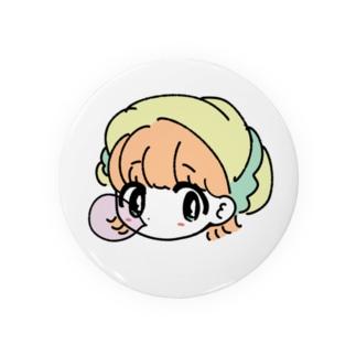 帽子風船ガム子 Badges