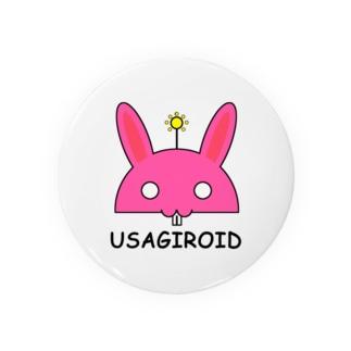 ウサギロイド Badges