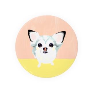 「保護犬カフェ支援」グッズ ビビィさん Badges