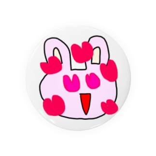 ウサギ×缶バッチ Badges