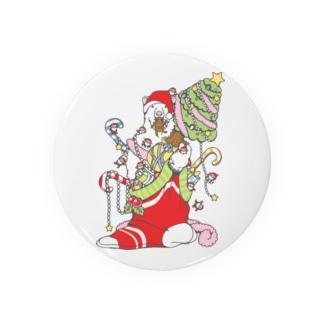 クリスマスだ!シロクマだ! (メニー?クリスマス) Badges