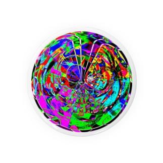 パターン005:crazy sphere Badges