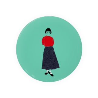 赤いサマーセーター Badges