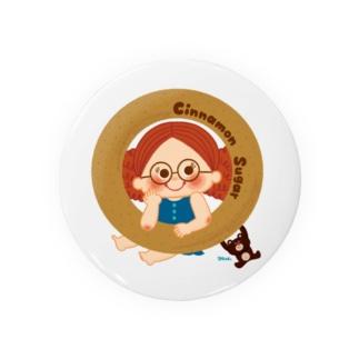 Cinnamon Sugar Badges