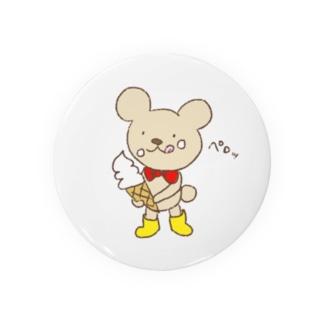 ソフトクリーム美味しいな💕 Badges