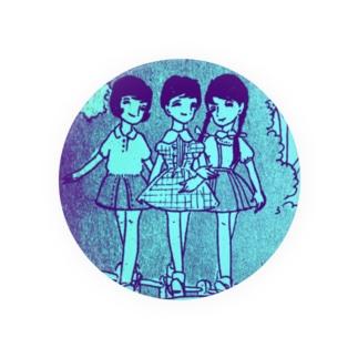 昭和の三人娘 Badges
