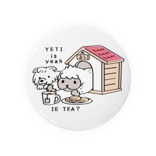 CT112 YETI is yeahの家でお茶*S Badges