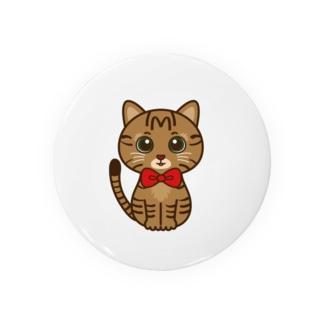 キジトラのすずちゃん・ロゴなし01 Badges