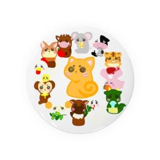 十二支 と ネコ ( 優月のあ ) Badges