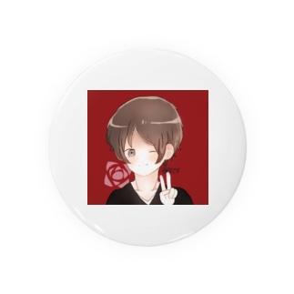 薔薇です🌹 Tin Badge