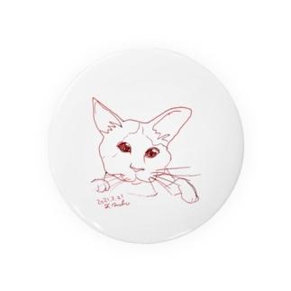 猫カフェ猫さんユル描画 Badges