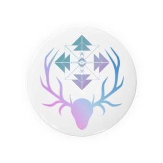 鹿と羅針盤(自然) Badges