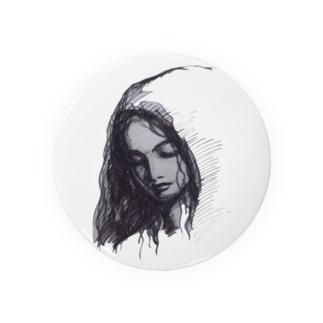 BLACK  MARIA Tin Badge