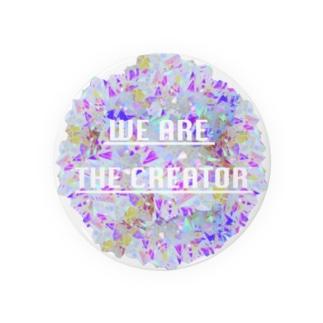 Crystal☆Flower Badges