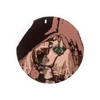 赤ずきんちゃん ドット絵ver Badges