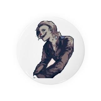 七味の世界館のピエロ ドット絵ver Badges