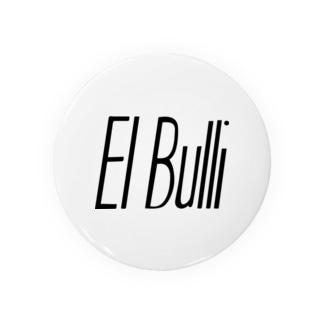 tocaiのエルブリelbulli黒ロゴ Badges