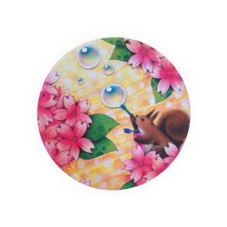 桜咲く歓び Badges