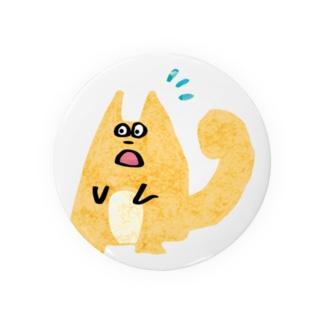 氷点の森のリス(びっくり!) Badges