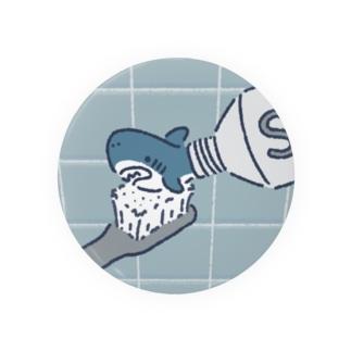 サメで歯みがき Badges