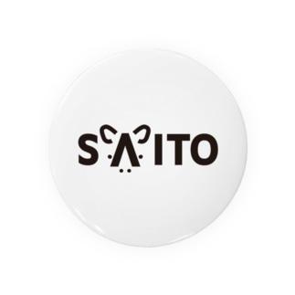 SAITO vo.1 BLACK FONT  Badges