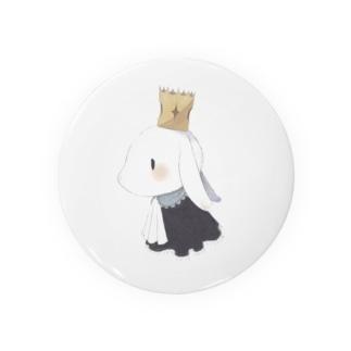 Queen rabbit Badges