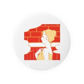 サ女子 〜サ室time〜 Badge