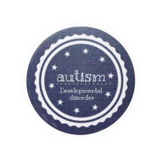 自閉症缶バッチ Badges