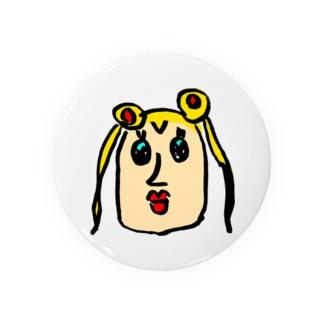 神○月?! designed by デレ Badges